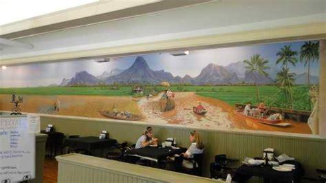 Small Home Interior Design Photos Architectural Details Corpus Christi Tx Mons Thai Restaurant Small Planet Mural Custom
