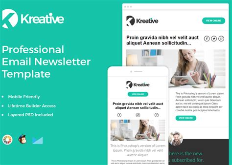 Free Email Newsletter Template Zippypixels Free Sle Newsletter Templates