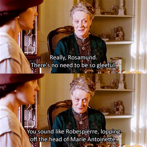 My Favourite Countess the dowager countess is my favorite