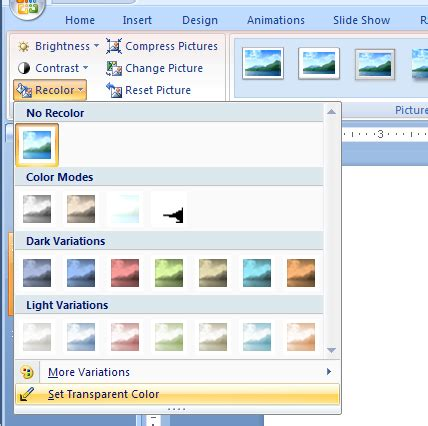 how to set a picture as a background on powerpoint change contrast picture 171 wordart picture clip shape