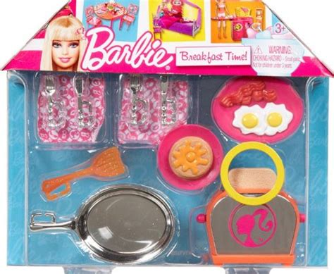 Barbie Aufkleber Set by Barbie Breakfast Time Cooking Doll Accessories Imagination
