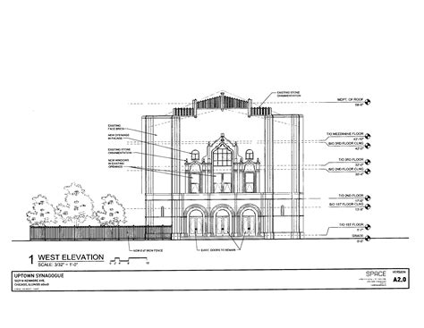 synagogue floor plan historic uptown synagogue going residential chicago