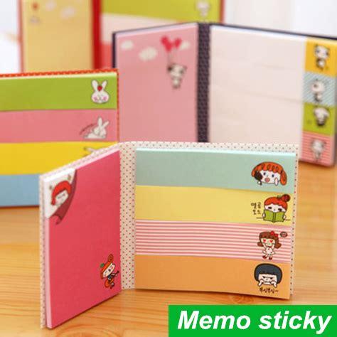 Memo Tempel Sticky Notes Post It Stick It Plester Tensoplast Sno048 10 Pcs Lot Memo Sticky Note 2 Fold N Times Stick Post It Notes Stickers Kawaii Stationery Office