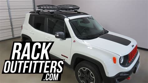 jeep comanche roof basket jeep renegade with thule 859xt canyon xt roof cargo basket