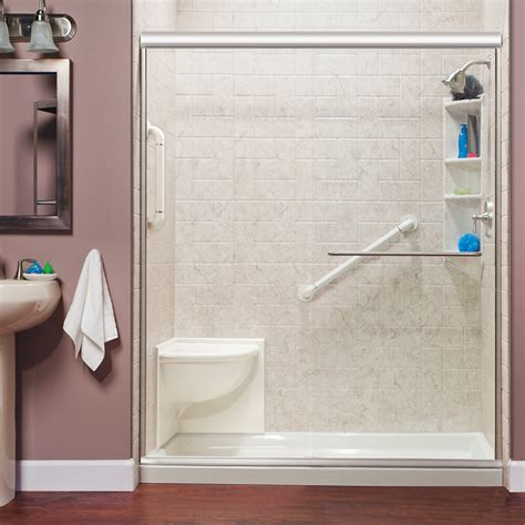 Step Shower by Erie Walk In Showers Erie Step In Tubs Erie Walk In