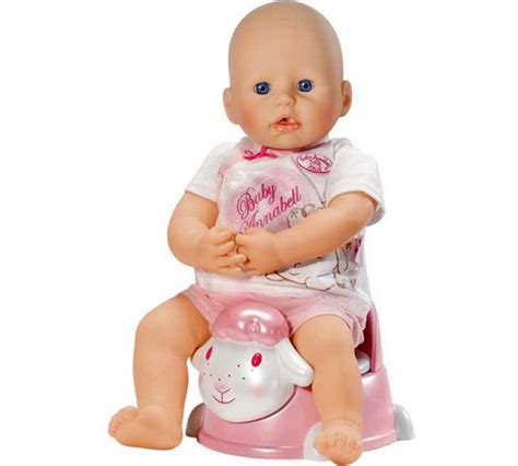 annabelle doll argos buy baby annabell interactive potty at argos co uk your