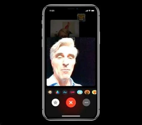 how to use animoji memoji in facetime calls on your iphone x 171 ios iphone gadget hacks