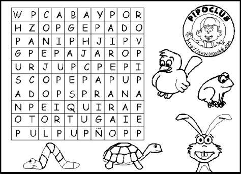 letras para ni241os juegos infantiles sopa de letras para imprimir imagui