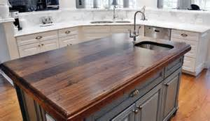 Wood Island Tops Kitchens How To Choose A Wood Countertop For Your Kitchen