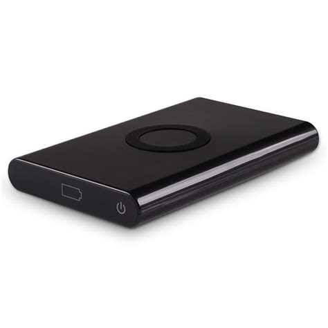Power Bank Wireless 7000mah qi wireless charger usb power bank for phones black