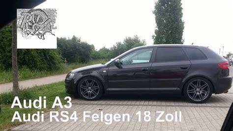 Felgen Audi A3 by Audi A3 8pa Mit Rs4 Titan Felgen 18 Zoll