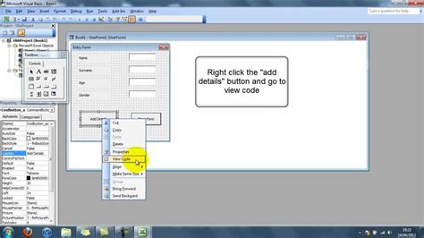 tutorial excel userform how to create a simple userform in excel doovi