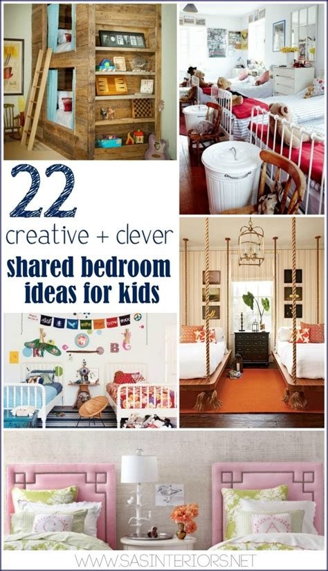 clever bedroom ideas 22 creative clever shared bedroom ideas for kids jenna
