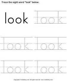 tracing words worksheets abitlikethis