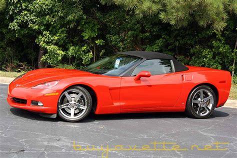 2007 corvette convertible 2007 corvette z51 convertible for sale