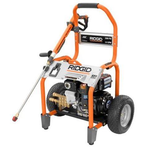 ridgid 3300 psi pressure washer home depot canada ottawa