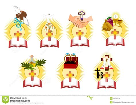 dibujos de los 7 sacramentos the seven sacraments clipart clipground
