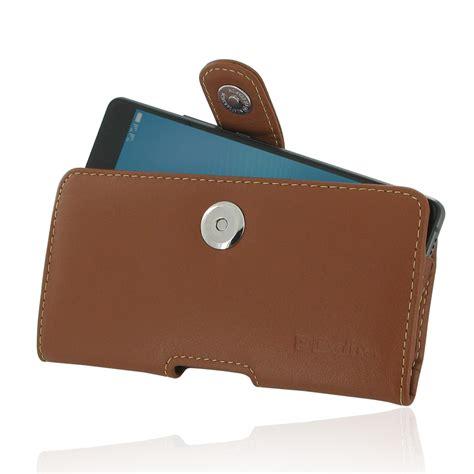 Huawei P9 Lite Genuine Leather Casing Kulit Origin Diskon huawei p9 lite leather holster brown pdair sleeve pouch