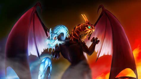 dota 2 wallpaper hd jakiro jakiro twin head dragon dota 2 wallpapers