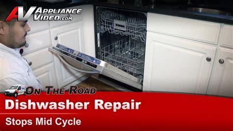 Kitchenaid Dishwasher Maintenance Kitchenaid Whirlpool Dishwasher Repair Diagnostic