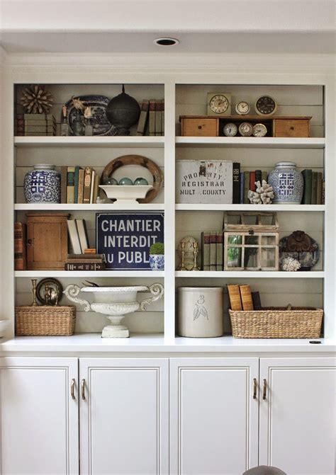 bookcase styling via meyers meyers meyers hinson