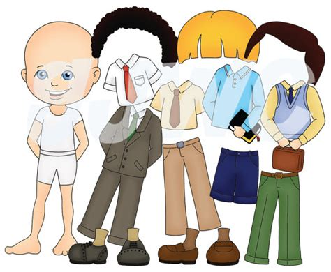 how to dress up a file boy dress up children s file folder game by