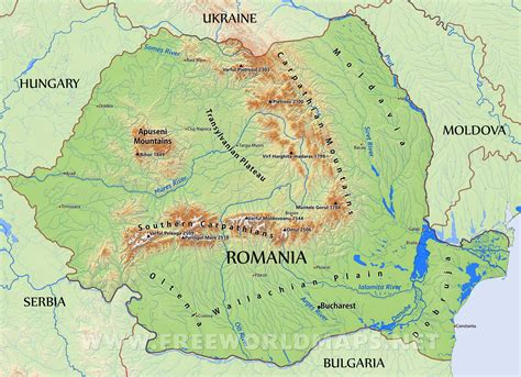 in romania romania physical features www pixshark images