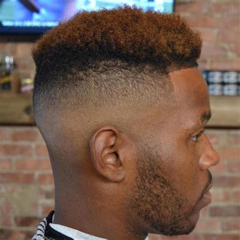 short dyed hair for black men 50 stylish fade haircuts for black men in 2018