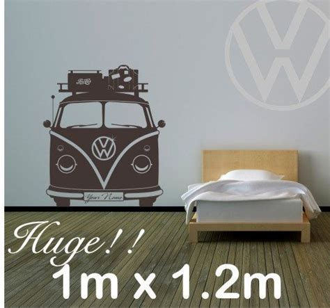 Vans Aufkleber Gratis by Split Screen Cer Vinyl Wall Decal With Your Choice