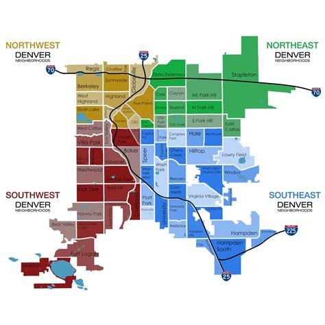 Denver County Search Denver Metro Map