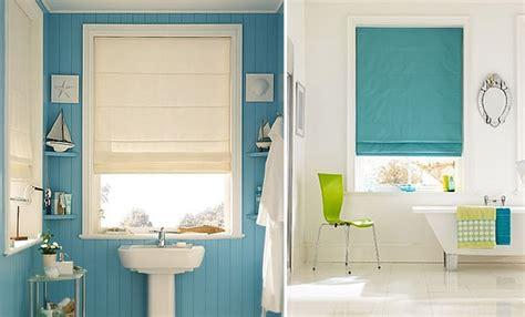 roman bathroom blinds window treatments 101 roman blinds the design tabloid