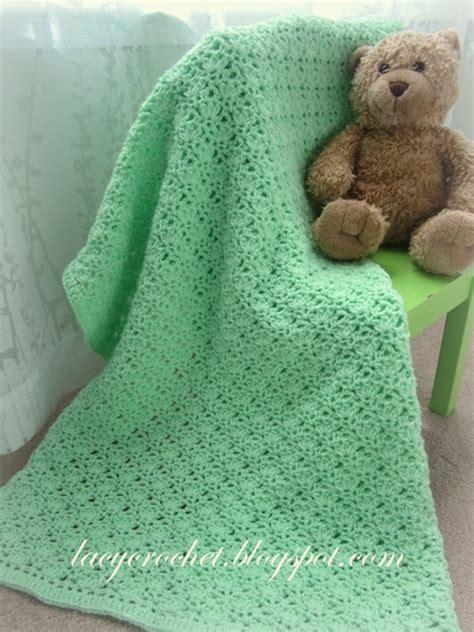 free pattern baby blanket lacy crochet crochet green baby blanket free pattern