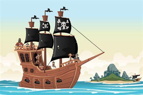 dessin bateau pirate des caraibes coloriage bateau pirate sur hugolescargot