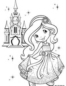 coloring pages princess castle princess coloring pages free castle crown