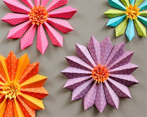 Make Flowers With Paper - paper flowers fotolip rich image and wallpaper