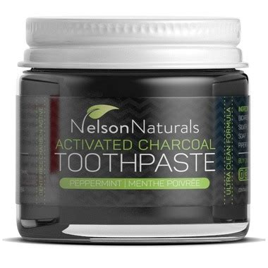 buy nelson naturals activated charcoal toothpaste