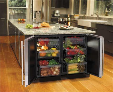 undercounter modular refrigerator   kitchen