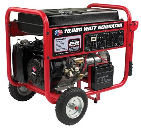 all power america portable generator apgg10000 10 kw gas