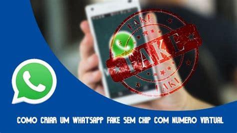 tutorial numero fake no whatsapp tutorial como criar um whatsapp fake sem chip com numero