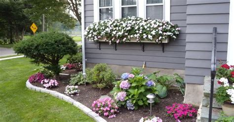 corner flower bed ideas corner flower bed landscaping design inspiration idea