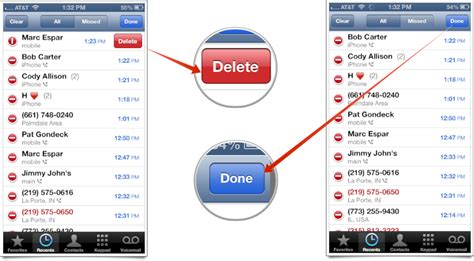 app layout change after phone call how to delete individual call records from recent calls on