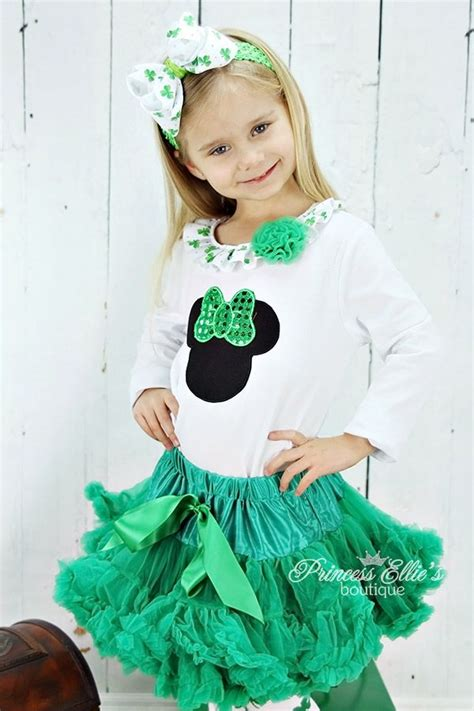 St Minnie Ruffle 17 best images about st s day shop on tulle dress st pats and baby toddler
