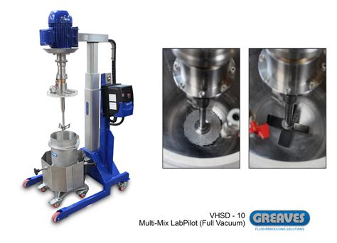 Rotor Blender high shear laboratory mixers greaves