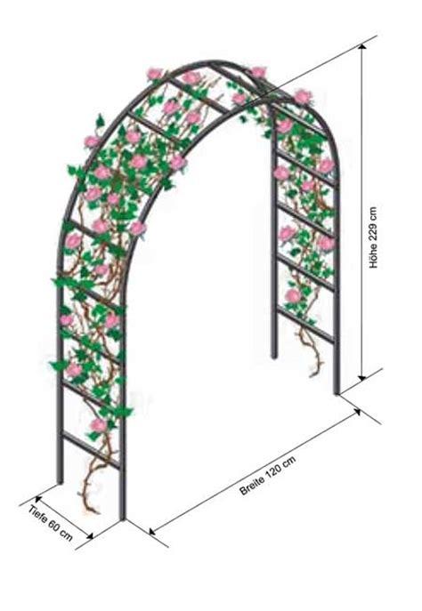 Rankhilfen Aus Holz 379 by Rosenbogen Metall Weiss The Garden Shop