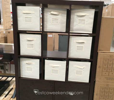 Costco Shelf by Bayside Furnishings 9 Cube Room Divider Bookcase Costco