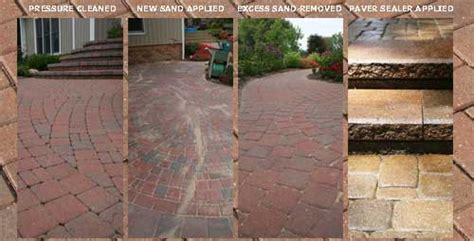 How To Seal Patio Pavers Pavers Cleaned And Sealed Mich