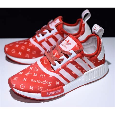 adidas x supreme adidas x supreme x lv nmd r1 mens nmd limited edition amazon