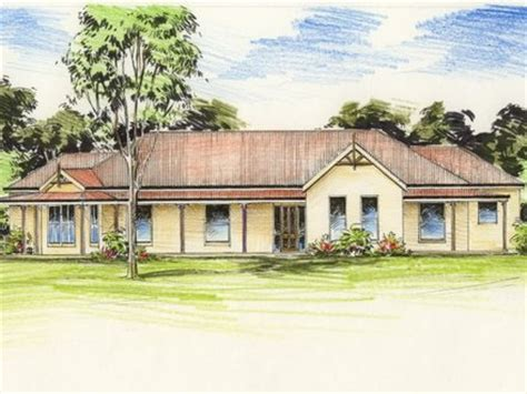 australian colonial house plans traditional australian