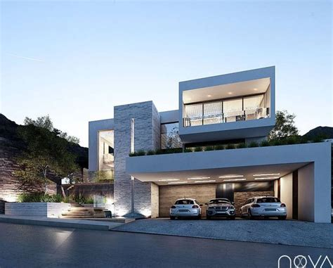 casas con estilo moderno 17 best images about modern villas on