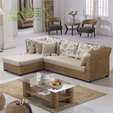 Nice Design Hand Woven Classic Seagrass Natural Rattan Seagrass Living Room Furniture